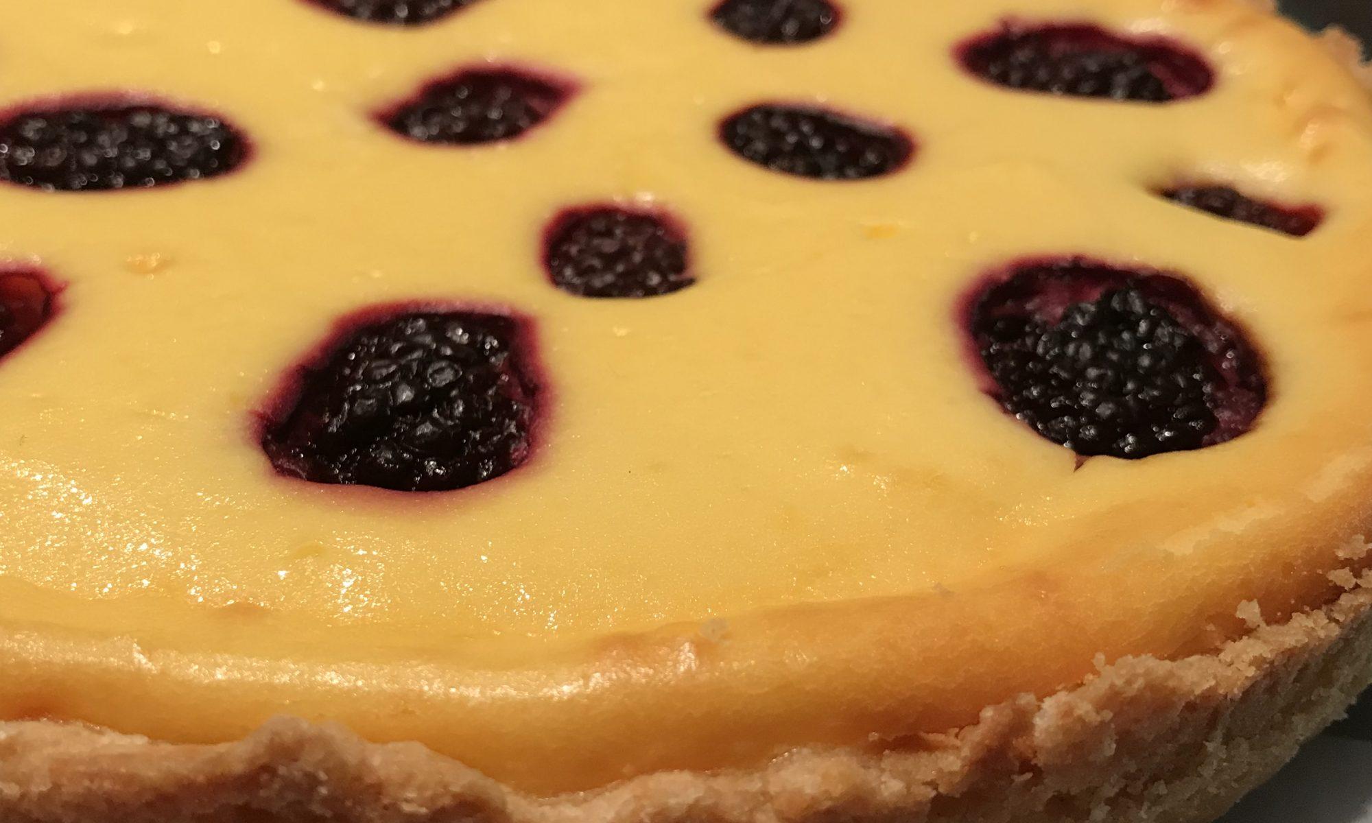 Quark Schmand Kuchen Mit Beeren Achims Garten Zum Essen