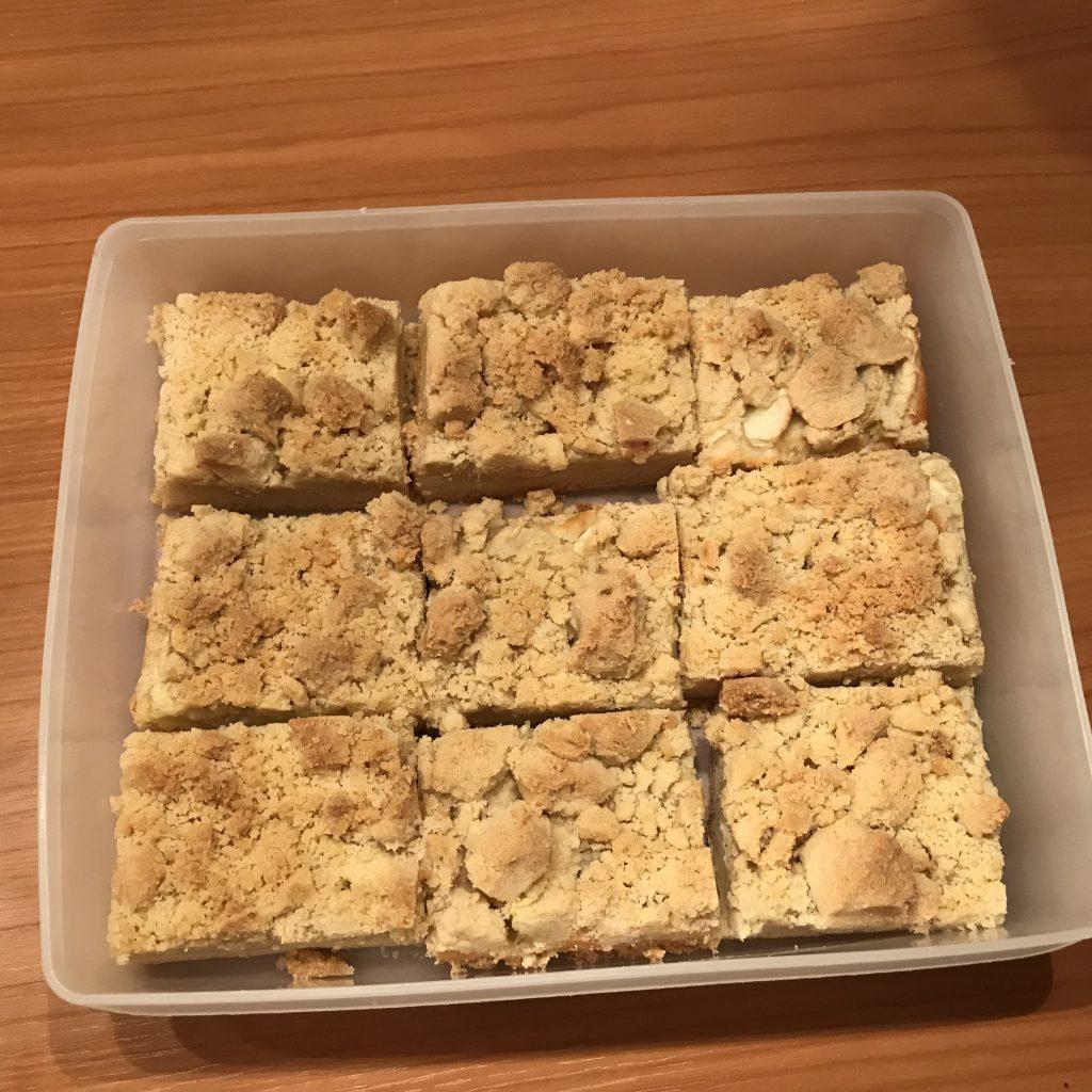 Apfel Streusel Kuchen Vom Blech Achims Garten Zum Essen
